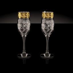 GN_160_М Набор из 2 бокалов, 200мл «Свадьба М»