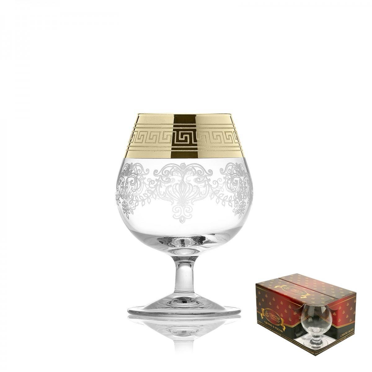 GN1_1740_3 Набор из 6 бокалов для бренди «Барокко», 250 мл