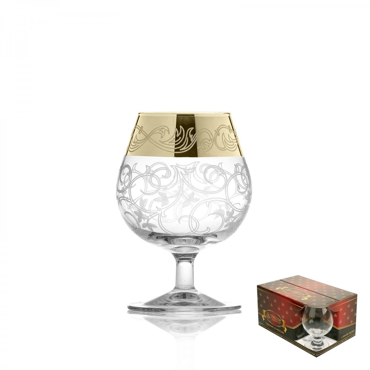 Набор из 6 бокалов для бренди «Вдохновение», 250 мл
