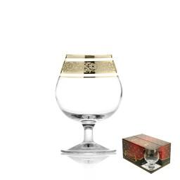 GN18_1740_3 Набор из 6 бокалов для бренди «Венеция», 250 мл