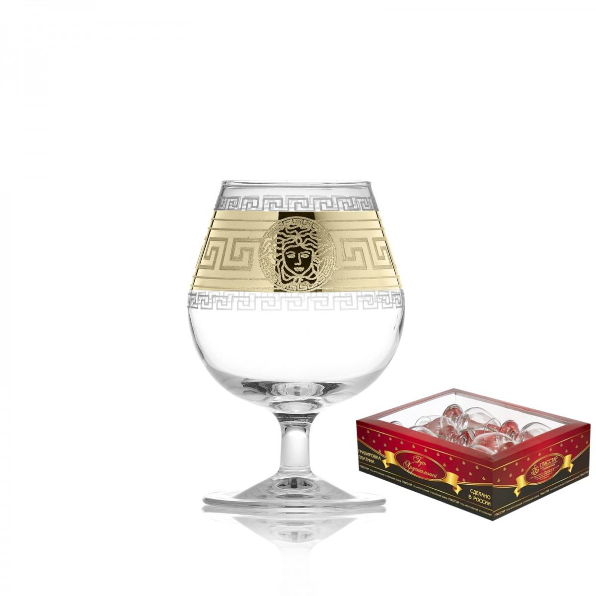 Набор из 6 бокалов для бренди «Версаль», 250 мл