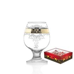 GN13_1740_2 Набор из 6 бокалов для бренди «Медальон», 250 мл