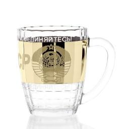 GN_1361_1 Набор из 2 кружек для пива «СССР», 500 мл