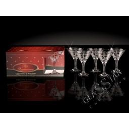 G2_410_3 Набор из 6 бокалов для мартини «Вдохновение», 190 мл