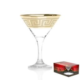 GN4_410_3 Набор из 6 бокалов для мартини «Греция», 190 мл