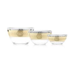 GN3_1329_1449_1322_1 Набор из 3 салатников  «Версаль» (1 большой + 1 средний + 1 малый салатники)