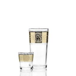 Набор 12 предметов «Версаль» (6 стаканов + 6 стопок)