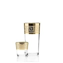 Набор 12 предметов «Греция» (6 стаканов + 6 стопок)