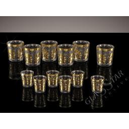 Набор 12 предметов (6 стаканов + 6 стопок)