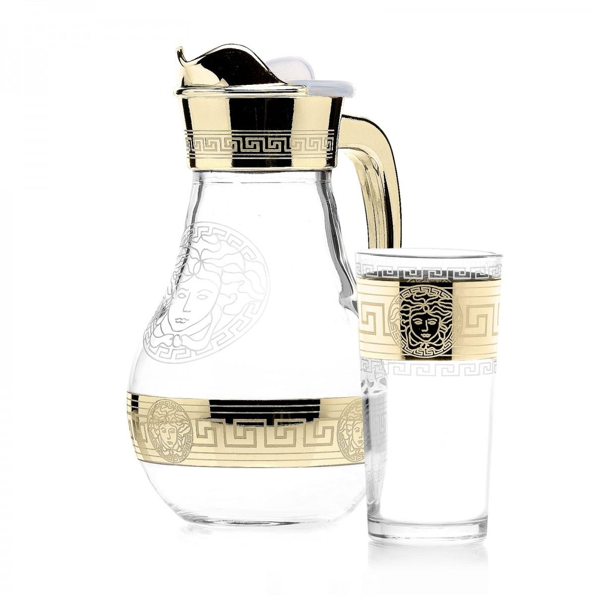 Набор 7 предметов «Версаль» (Кувшин + 6 стаканов)