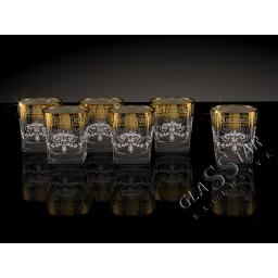GN1_280_4 Набор из 6 стаканов для виски «Барокко», 205 мл