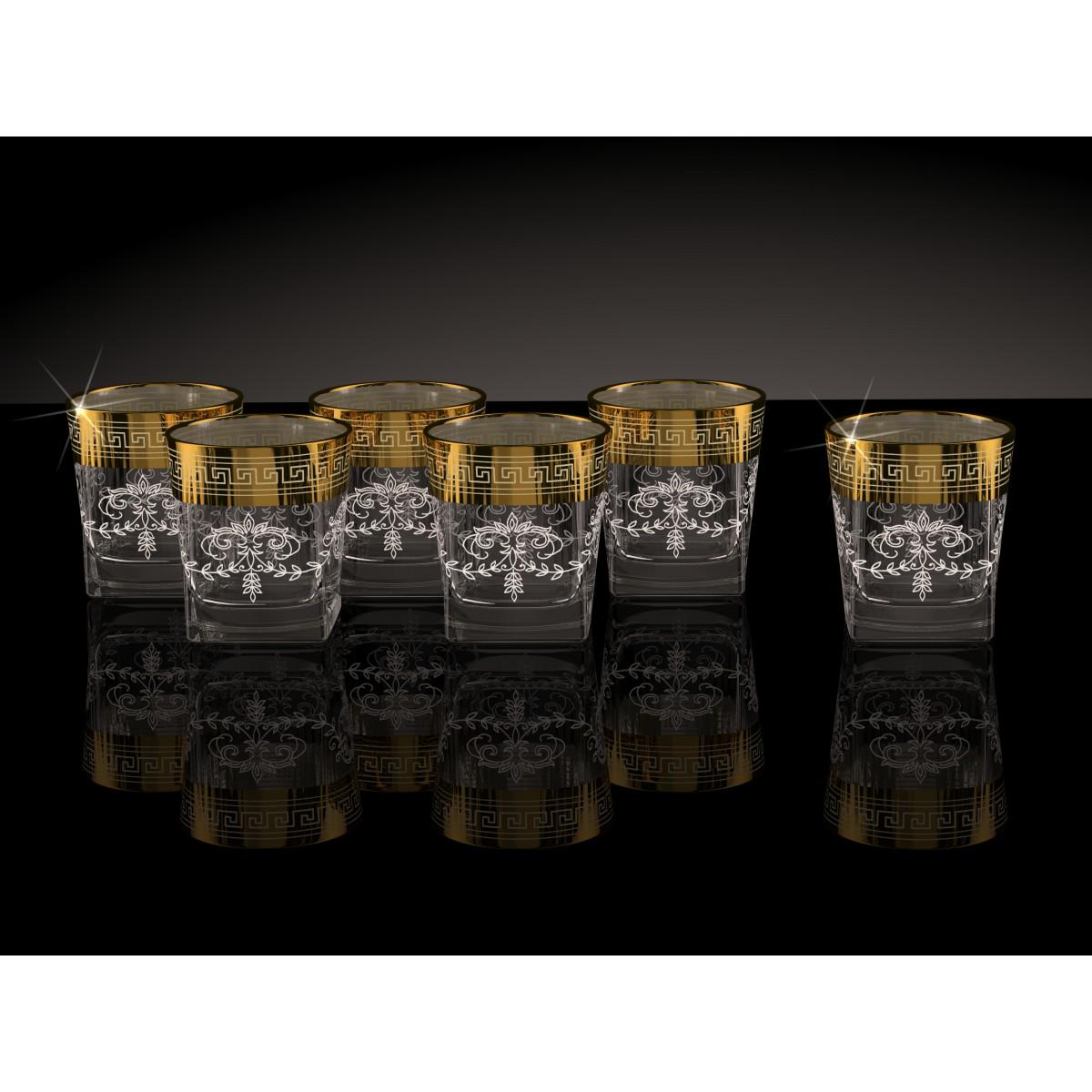 GN1_290_4 Набор из 6 стаканов «Барокко», 310 мл