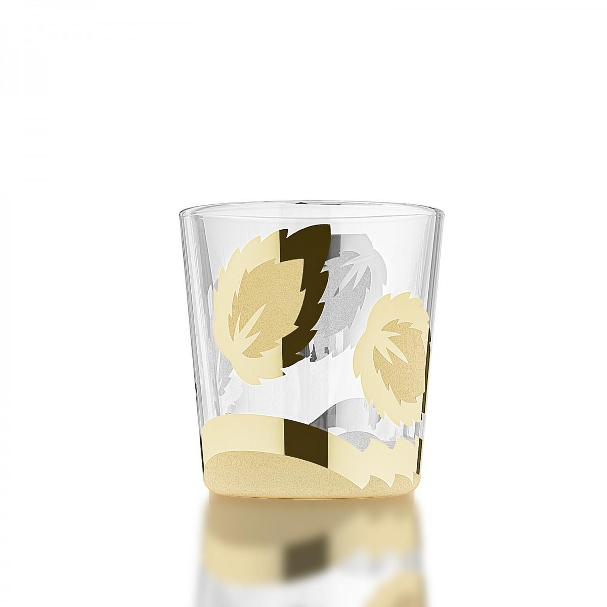 PN_40_1 Набор из 6 стаканов «Лист»