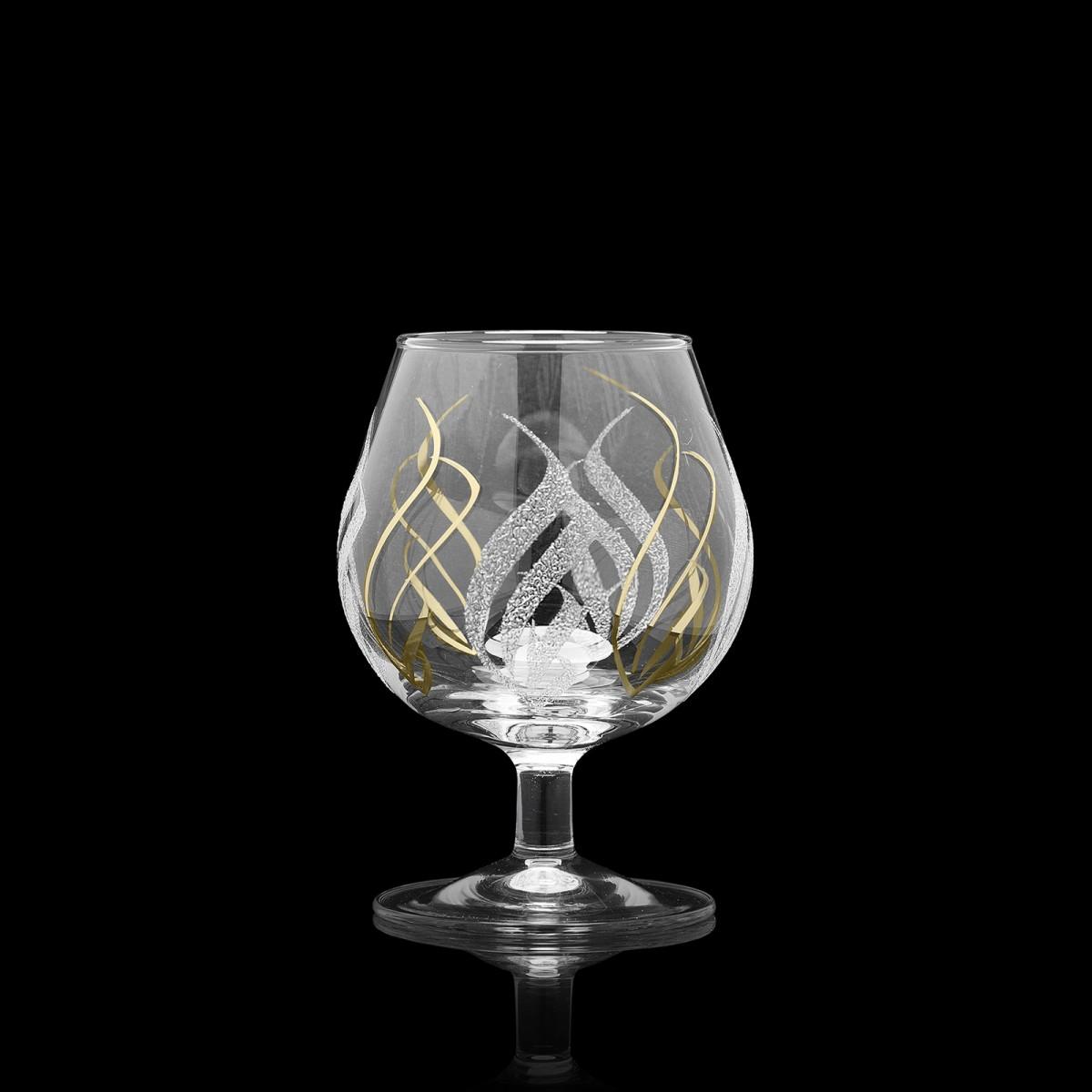 Набор из 6 бокалов для бренди «Крыло», 250 мл