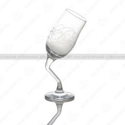 Набор из 6 бокалов «Пьяные бокалы», 200мл