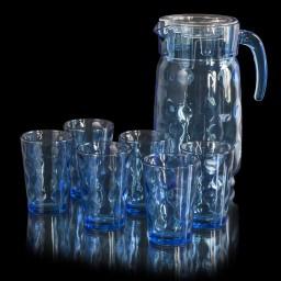 GL_98678 Набор 7 предметов (Кувшин + 6 стаканов)