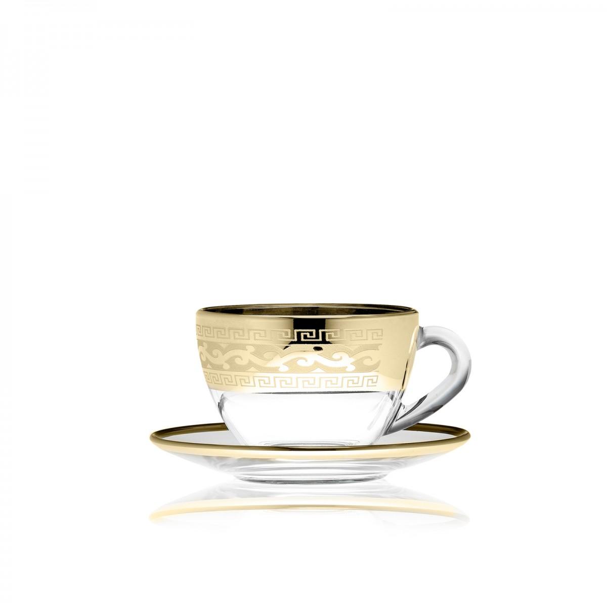 Набор чайный, рисунок «Полоса Версаль»