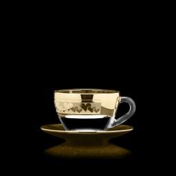 чайный, рисунок «Сердца»