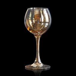 Фужер «Эдем», Радужное напыление «Honey», V - 350 ml.