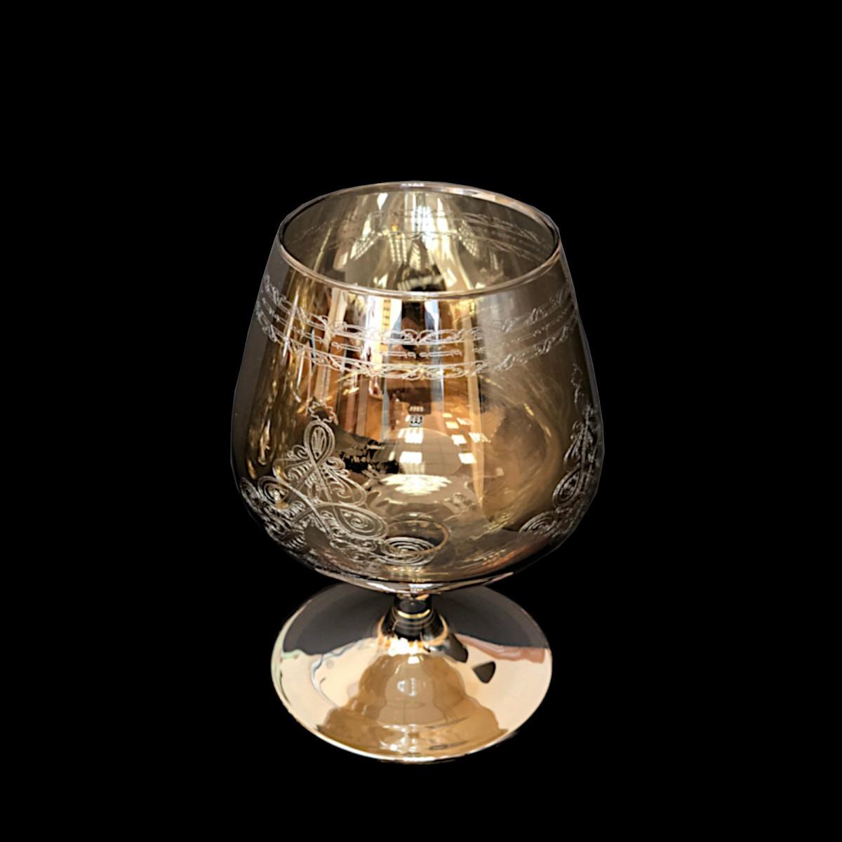 Набор из 3 бокалов для бренди «Медовый Восточная сказка», 410 мл